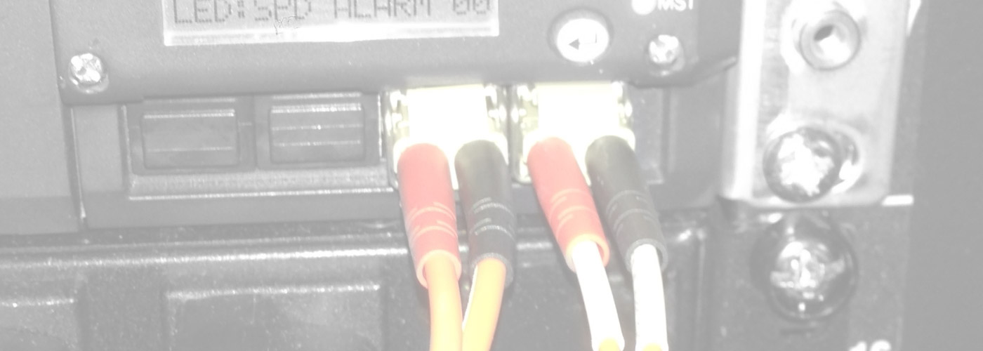 Fiber Optic Network Ports on Juniper Switch
